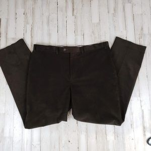 Lauren Ralph Lauren Mens Pants Brown Corduroy